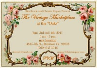 The Vintage Marketplace june 2011 postcard