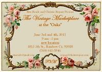 The Vintage Marketplace june 2011 postcard