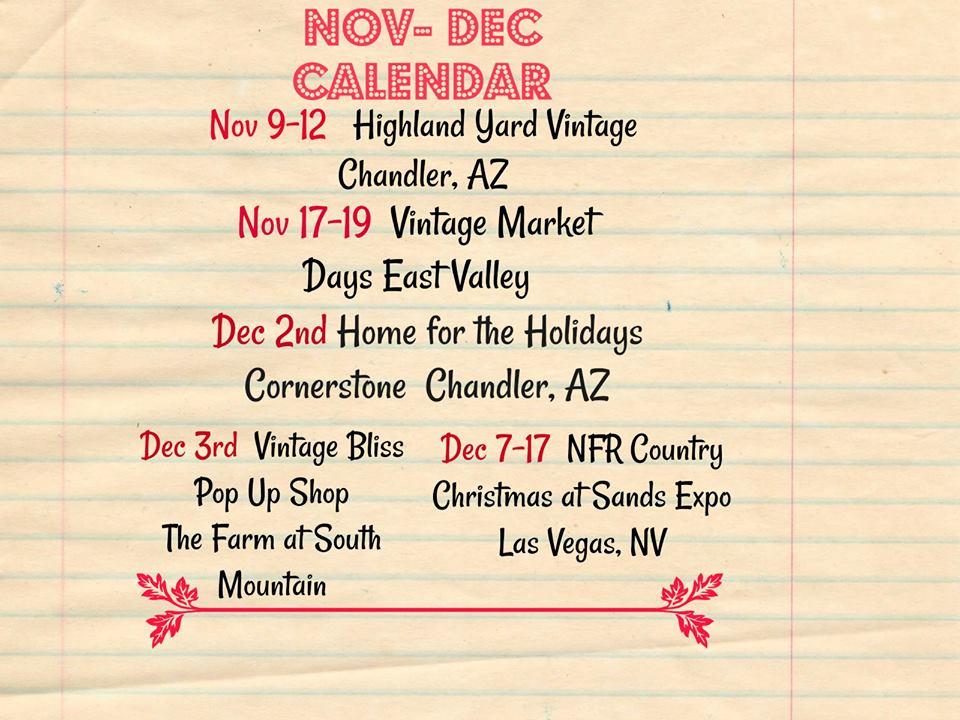 Nfr Calendar.Vintage Bliss Vintage Bliss Calendar