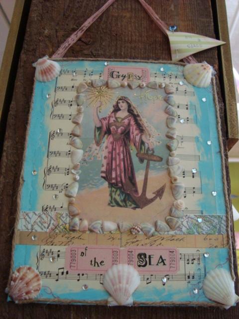 Gypsy Mermaid canvas class