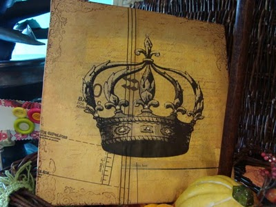 Beeswax Crown Canvas Class June