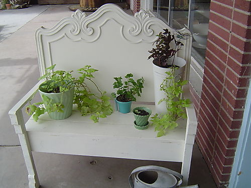 this lovely bench sold while I was there!