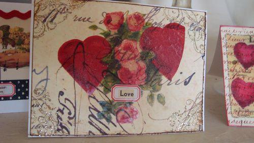 Iron On Transfer Valentine Card