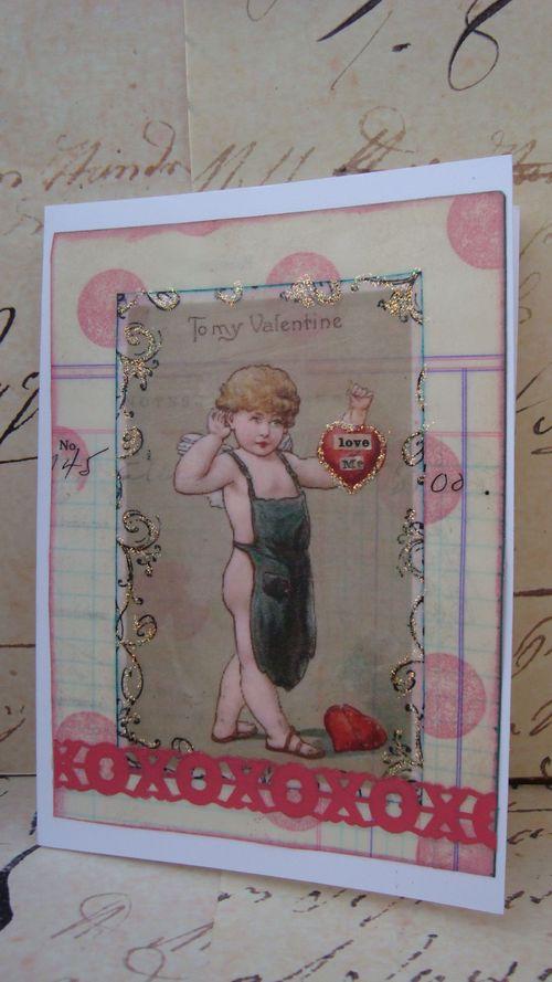 Beeswax Valentine Card