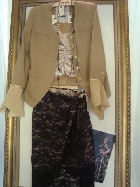 Wrap Skirt at Paris Montana