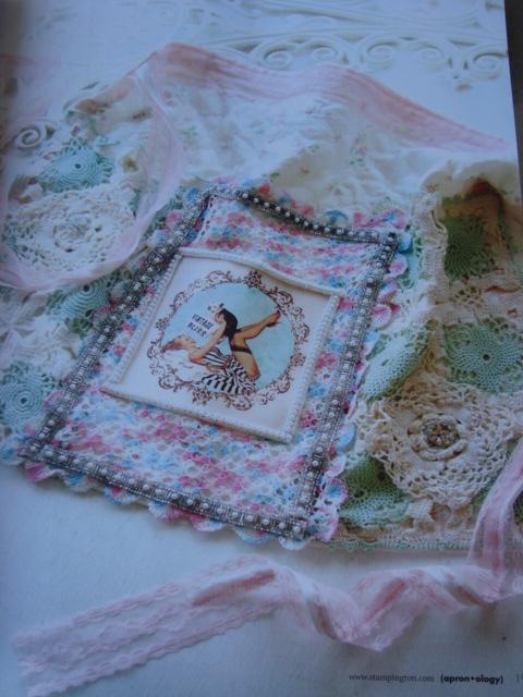 my handmade apron for Silver Bella 2009