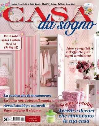 """Spring 2012 Casa da Sogno  Italian """"Romantic Homes"""""""